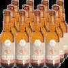 6 bouteilles d'Apis hour au gingembre